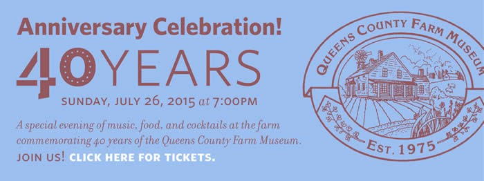 Queens County Farm Museum 40th Year Anniversary