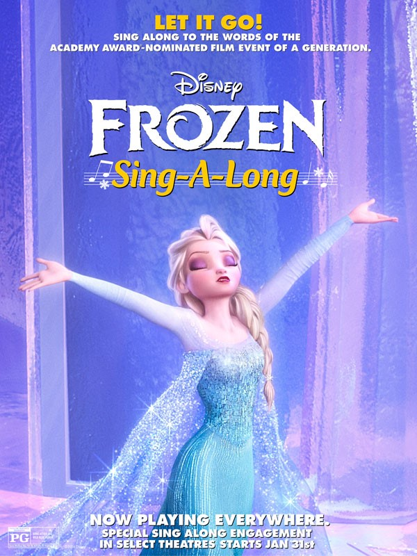 Disney Frozen Sing-A-Long This Saturday