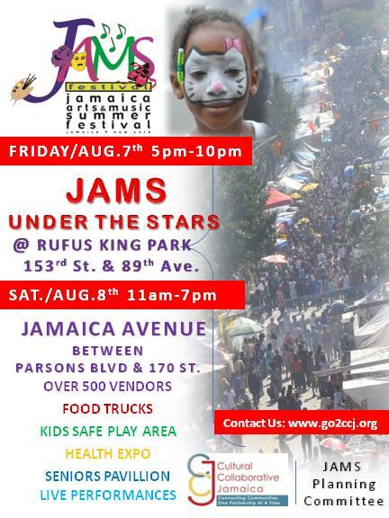 Jams Under the Stars at Rufus King Park