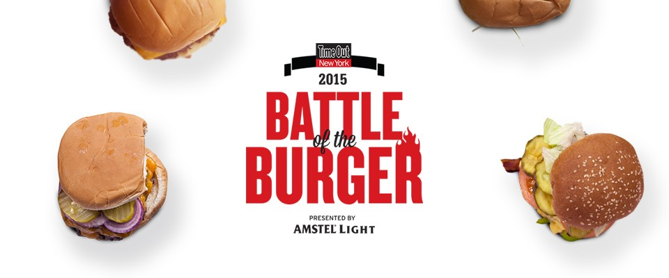 Time Out New York's Battle of the Burger