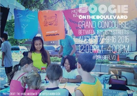 BOOGIE ON THE BOULEVARD THIS SUNDAY