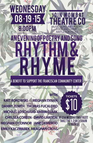Rhythm & Rhyme: An Evening of Poetry & Song
