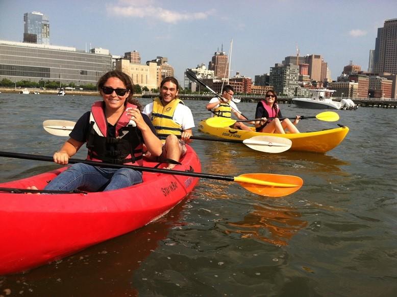 Free Kayaking at Pier 26