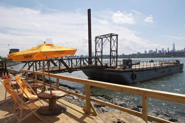 Check out the new Brooklyn Barge Bar