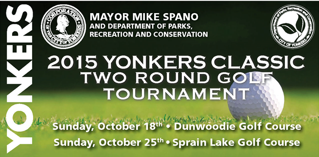 2015 Yonkers Classic Two Round Golf Tournament