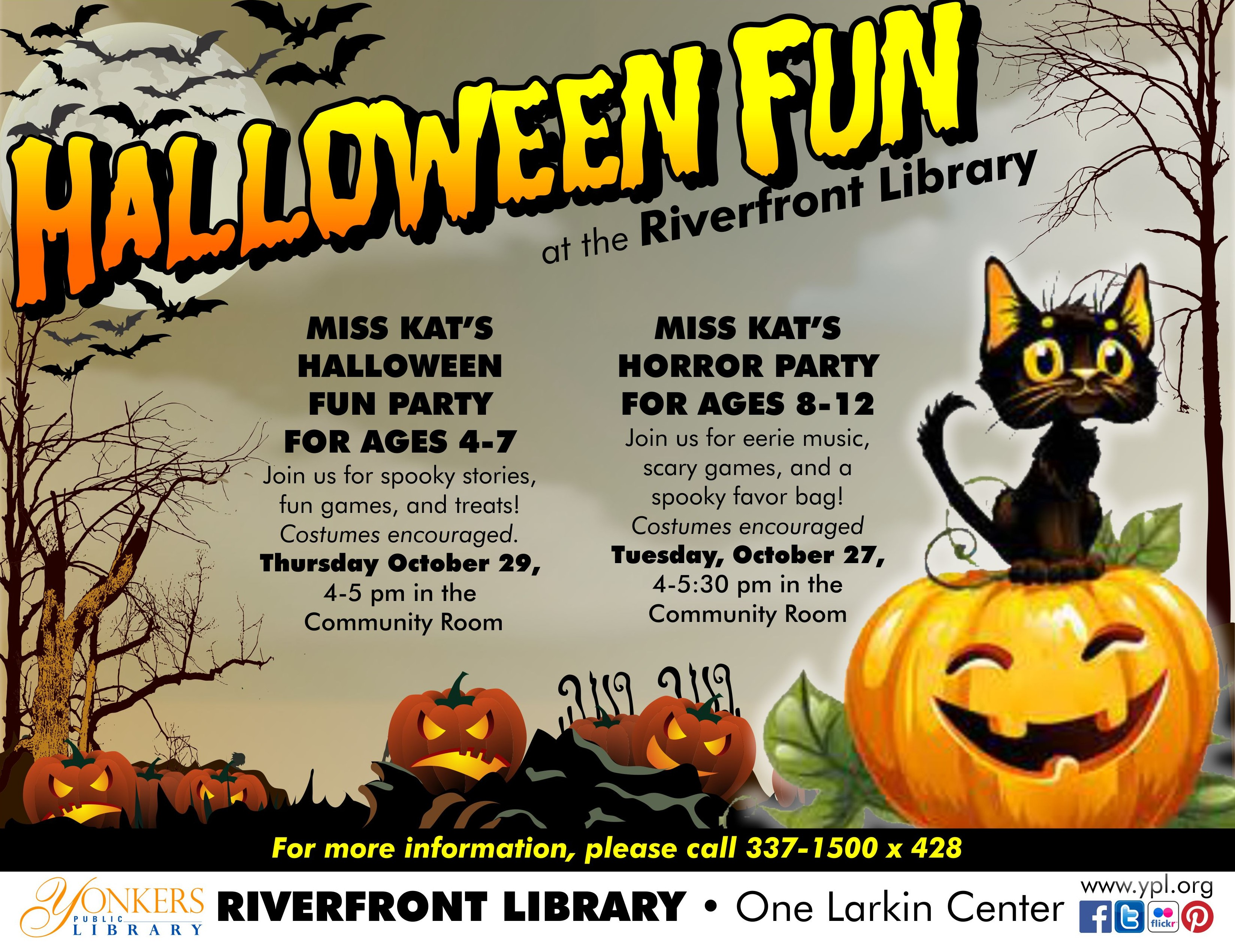 Halloween Fun at the Riverfront Library