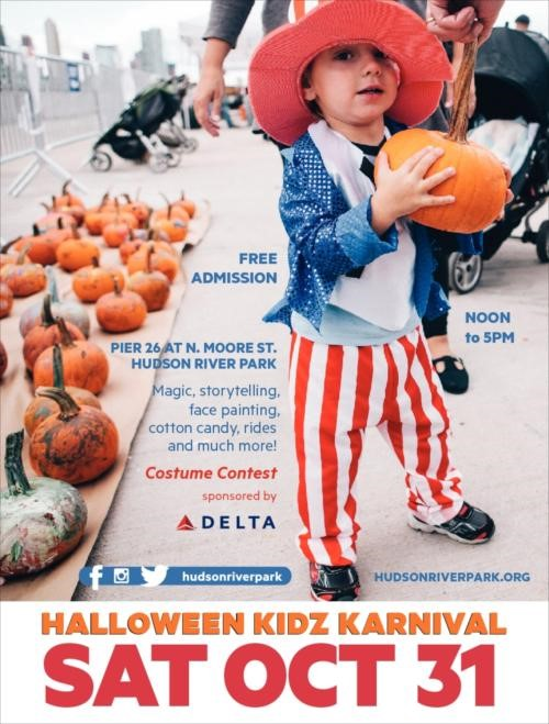 Halloween Kidz Karnival Event at Pier 26 This Saturday