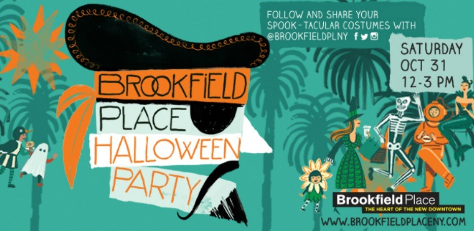 Halloween Party at Brookfield Place