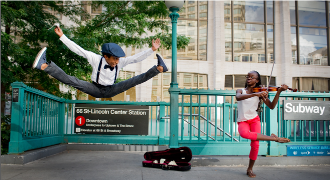 Dancers Among Us Exhibit at the Hudson River Museum