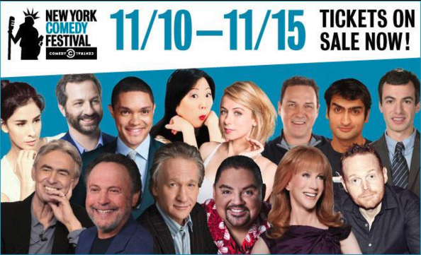 New York Comedy Festival Starts Nov. 10th