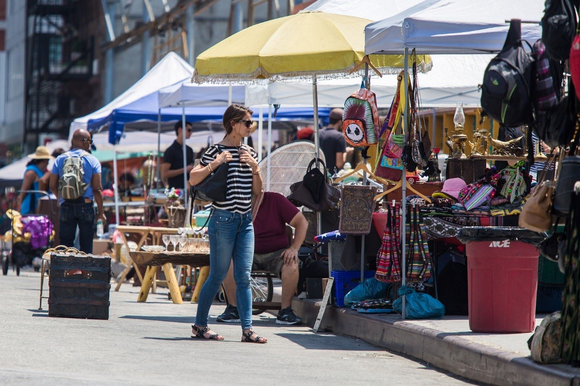 Discover the Green Flea Market in the UWS