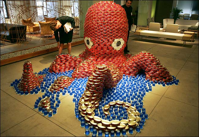 Brookfield Place CANstruction