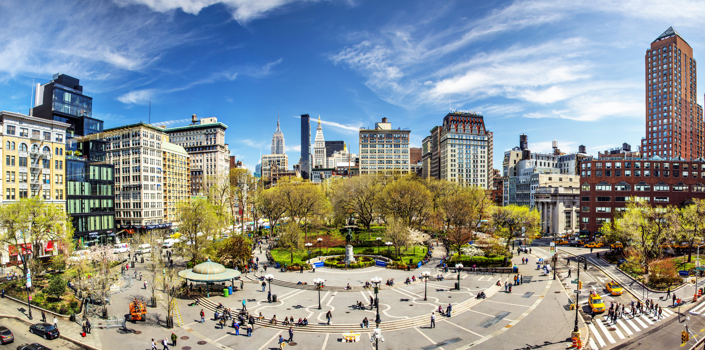 Enjoy A Walking Tour Of Union Square