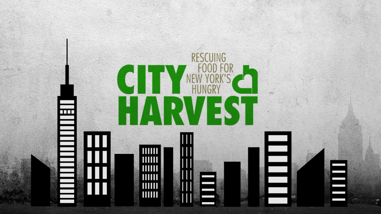 The City Harvest Food Drive