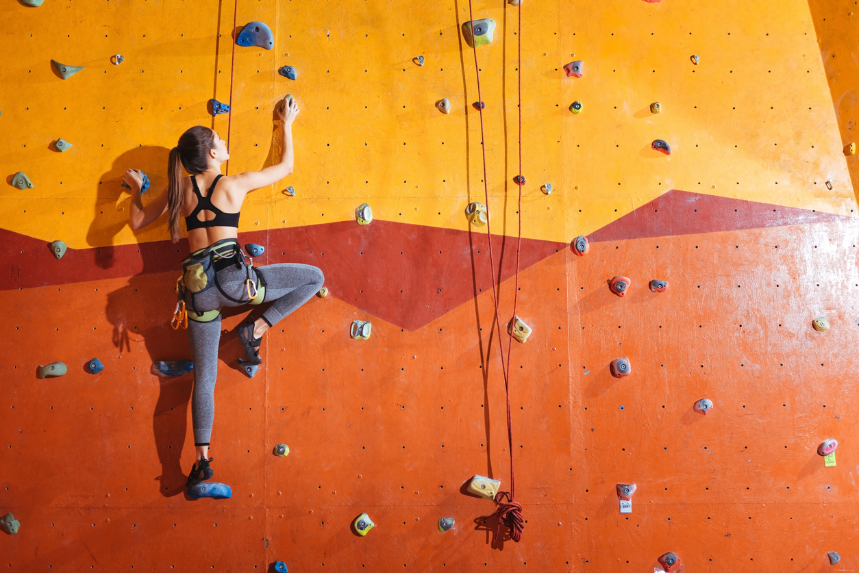 Indoor Rock Climbing at Brooklyn Boulders image