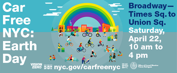 Car Free Day for Earth Day
