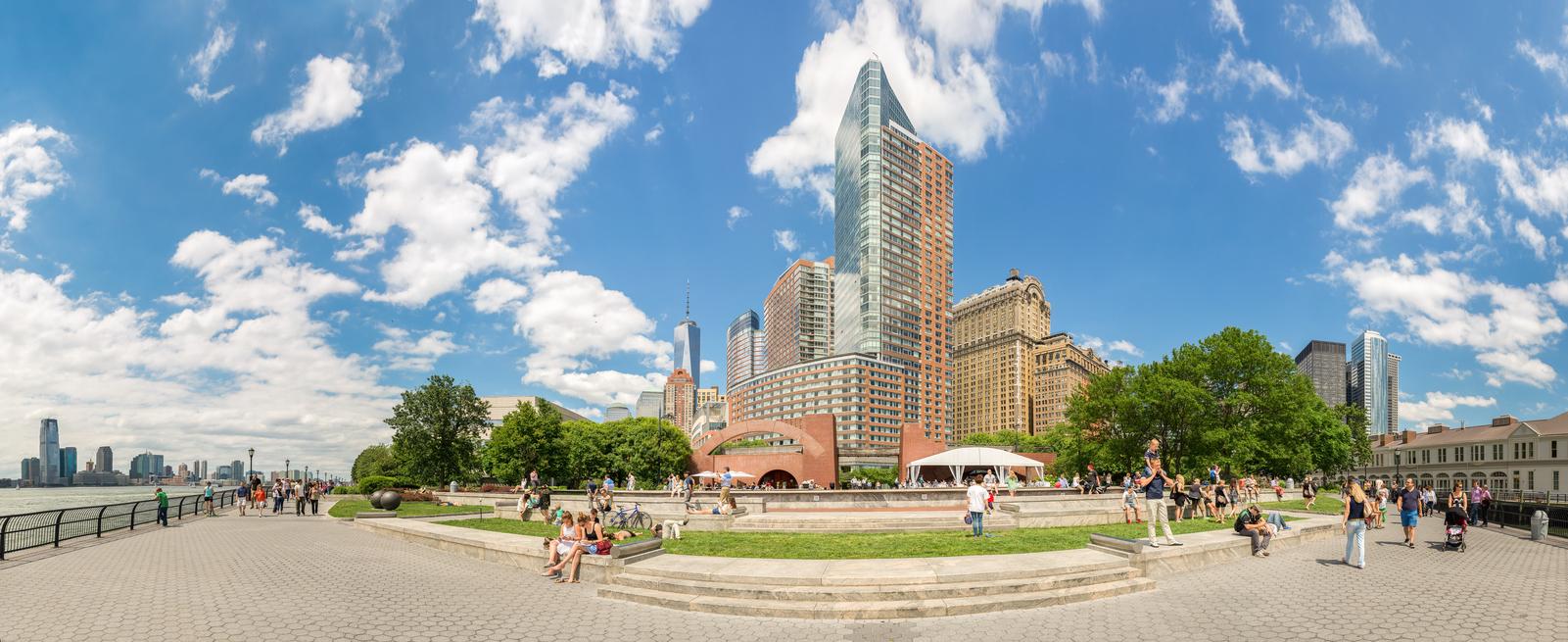 The Battery Park History