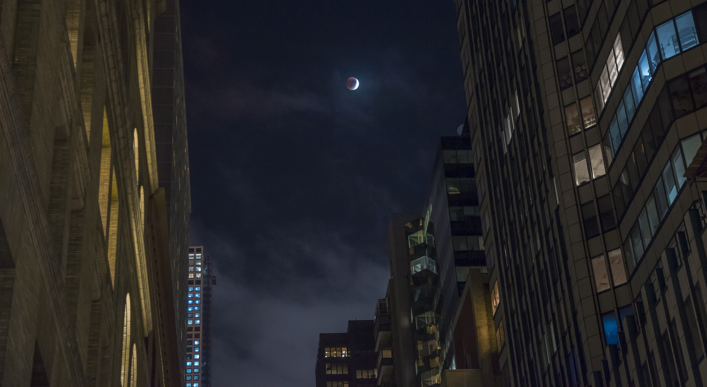 Solar Eclipse - NYC