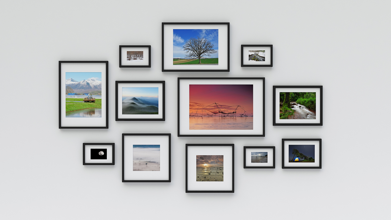 10 Frame Art Ideas image