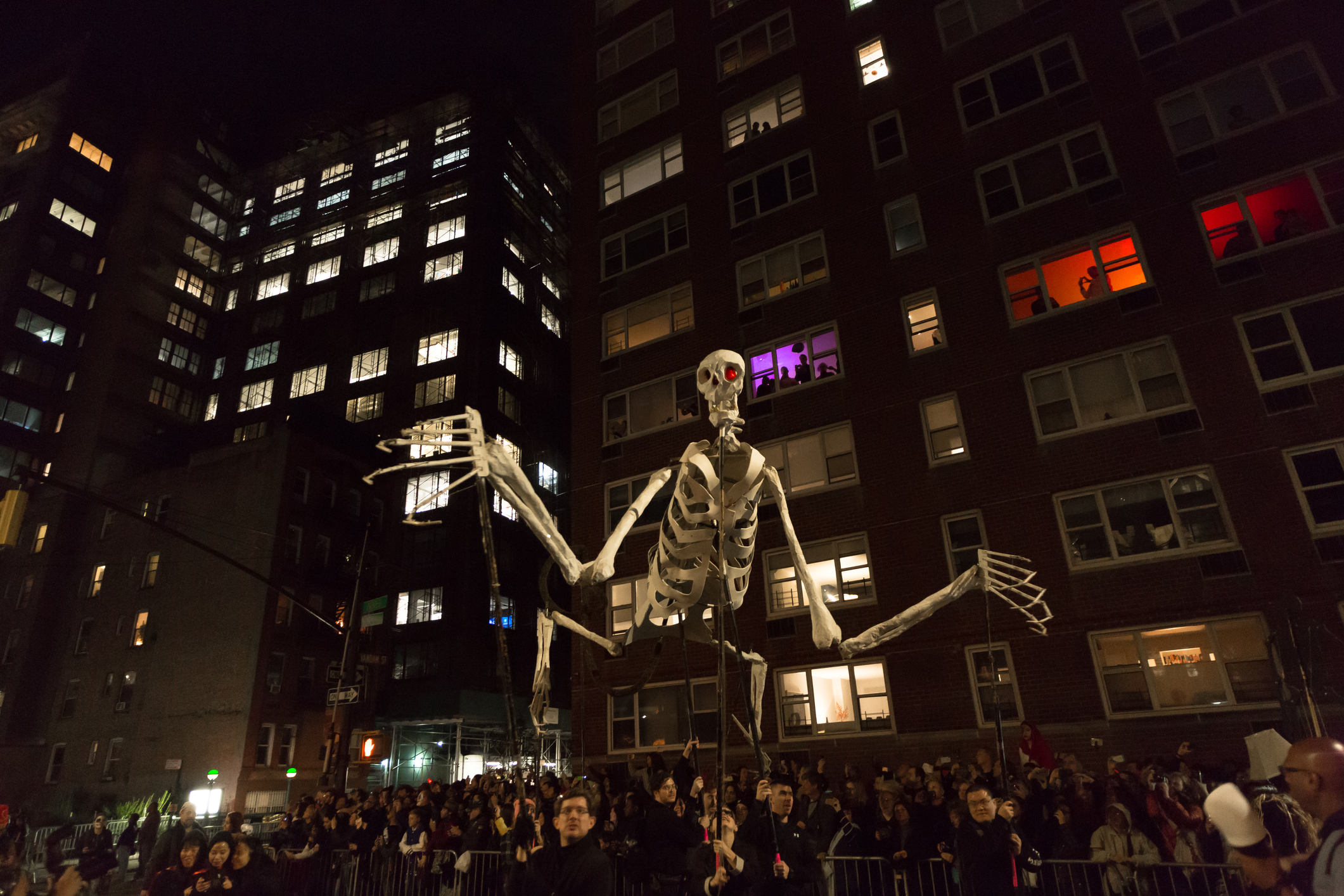 Halloween Parade in NYC 2019